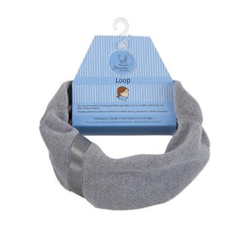 Sterntaler Sterntaler Loop-Schal mit Reflektorstreifen, Größe: S, Silber (Melange)