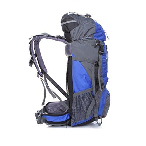 Die neuen Außenreit Rucksack Camping Tasche wasserdicht Reiten Profi-Paket Berg Taschen Blau