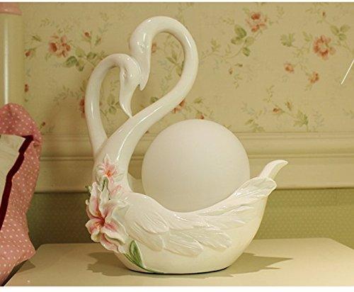 CLG-FLY nuovo e innovativo wedding accensione a caldo della lampada Swan lussuoso pratico armadio al posto letto camera da letto elegante sala per matrimoni in stile Europeo rosso,Swan Lily