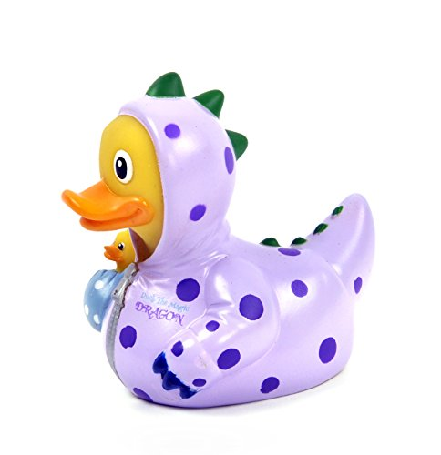 CelebriDucks Duck the Magic Dragon RUBBER DUCK Costume Quacker Bath Toy