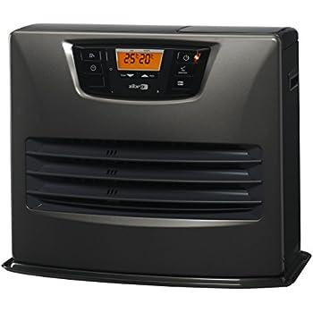 Zibro Lc 150 Poêle à Combustible électronique 465 Kw 4650 W Gris 30 à 76 M²