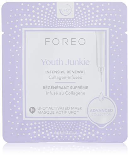 Foreo Youth Junkie UFO-Activated Mask, 6 Stücke -