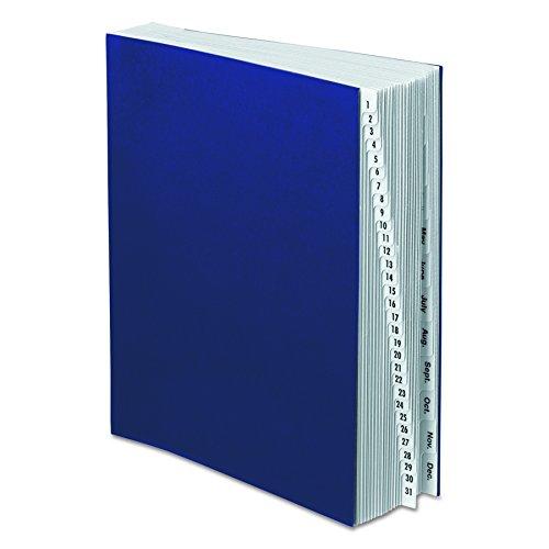 Pendaflex ddf5-ox Acryl beschichtet Expansion Pultordner, 1-31& Monat Indizierung/42Trennwände, Buchstabe - Monatlich Akkordeon-datei