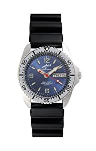 Chris Benz One Medium CBM-B-SI-KB Unisex Diving Watch