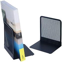 Wedo 0651201 - Sujetalibros (Paquete de 2), color negro