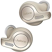 Jabra Elite 65t True Wireless Bluetooth Earbuds with Charging Case and One-touch Amazon Alexa, Gold Beige