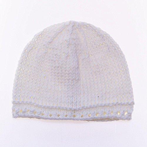 aaa2dbd816f2 Bonnet de Naissance Bébé Fille 100% Coton Fait Main   - 3 - 6 mois