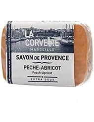 La Corvette Savon de Provence Pèche-abricot 100 g