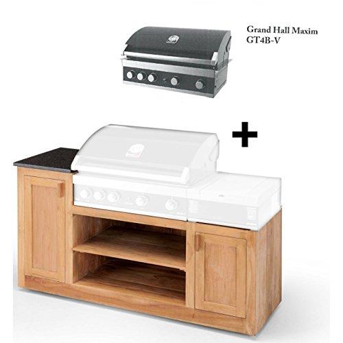 Grandhall gebraucht kaufen nur noch 3 st bis 60 g nstiger for Outdoorkuche mit grill