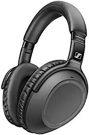 Sennheiser Black PXC 550-II Wireless – NoiseGard Adaptive Noise Cancelling, Bluetooth Headphone with Touch Sen