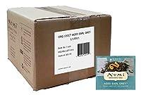 Numi Organic Tea Aged Earl Grey, Full Leaf Black Tea, 100 Count Bulk non-GMO Tea Bags
