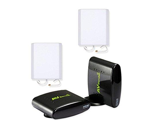2.4G Wireless Transmitter und Empfänger Sicherheitssystem Video mit Langen Bereich 700m AV Sender für CCTV-Kamera STB DVD Ir-modulator