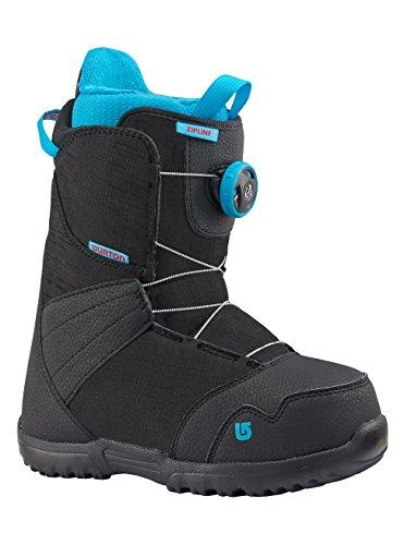 Burton Kinder Zipline Boa Snowboardboots, Black, 7K -
