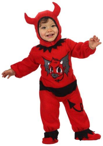 Atosa-10298 Disfraz Demonio, color rojo, 0 a 6 meses (10298)