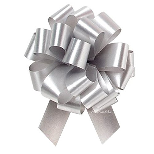 Easter gifts for amazon special occasion silver ribbon florist pull bows for arts crafts gift wrapping decorations weddings christmas flowersgifts birthdays easter 10 negle Gallery