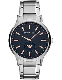 2b5a821a6883 Emporio Armani Reloj Analógico para Hombre de Cuarzo con Correa en Acero  Inoxidable AR11137