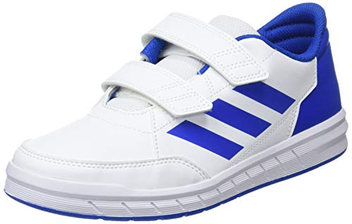 adidas Unisex Kids AltaSport Cf K Gymnastics Shoes, White (Ftwr White/Blue), 12.5 UK (31 EU)