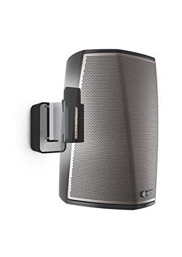 Vogel's SOUND 5201 Noir, Support Mural Réglable pour Enceinte Denon HEOS 1, Inclinable 30º et Orientable 70º