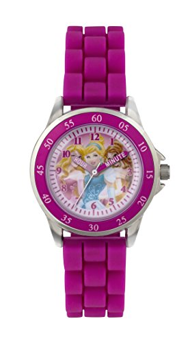 Princess Girls' Time Teacher Quartz Watch with Rubber Strap – PN1078 Best Price and Cheapest