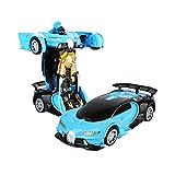 Voiture De Déformation Bugatti Veyron Voiture TélécommandéeVoiture1:12télécommandée De Déformation À Un Bouton Voiture De Déformation Par Induction Jouets Pour Enfants
