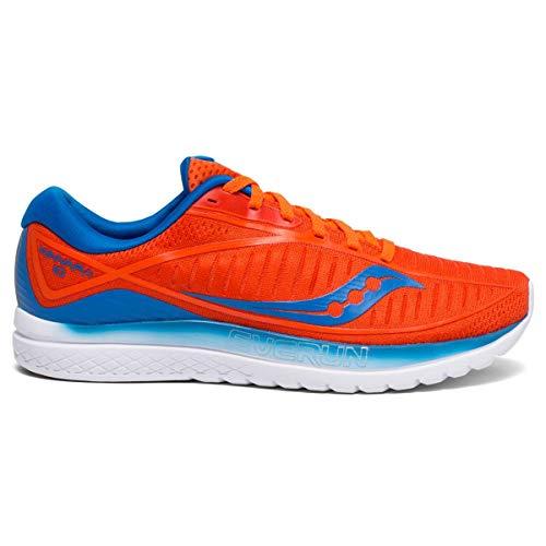 Saucony Herren Kinvara 10 Laufschuhe, Orange/Blue 36, 42 EU