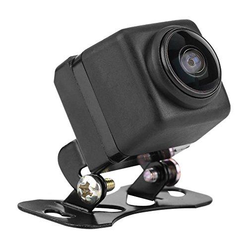 Rückfahrkamera Nachtsicht Armaturenbrett Kamera Fahren Dash Recorder HD180 Grad Weitwinkelobjektiv Fisheye-Objektiv Nachtsicht Auto Kamera Vorderansicht Weitwinkelkamera