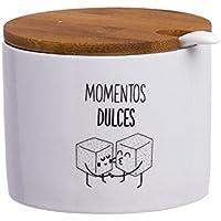 """DCASA AZUCARERO REDONDO CON TAPA """"MOMENTOS DULCES"""""""