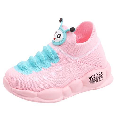 DQANIU Babyschuhe-Mädchen / Jungen Sport Stretch Mesh Schuhe Cute Cartoon Infant Kinder Baby Laufschuhe Stretch Socken Schuhe Casual Outdoor Schuhe Geburtstagsgeschenk, für 15M-7Y Kinder -