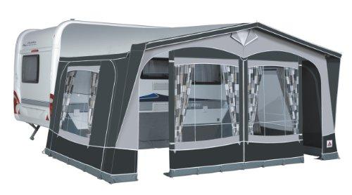 Dorema-President-XL250-Luxus-Reise-Vorzelt-Saisonzelt-AnthrazitGrau-18-1075-1100-cm-Standard