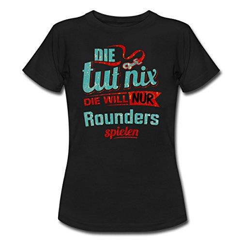 die-tut-nix-die-will-nur-roundies-rahmenlos-petrol-damen-sportart-sports-fun-design-shirt-frauen-t-s