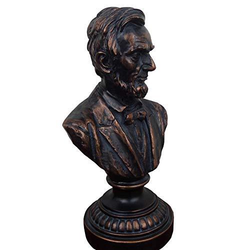 LIN-rlp Abraham Büste, Charakter Statuen Skulpturen Resin Figuren Ornamente Home Office Dekorative Sammlerstücke