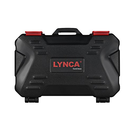 Docooler LYNCA KH 10 Water-Resistant CF/SD/SDHC/TF/MSD Memory Card Case Box Keeper Carrying Holder Storage Organizer 24 Slots for Sandisk Transcend Lexar Kingston