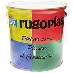 Pintura Piscinas al Clorocaucho Azul / Blanco (5Kg, Azul H 24) Envío GRATIS