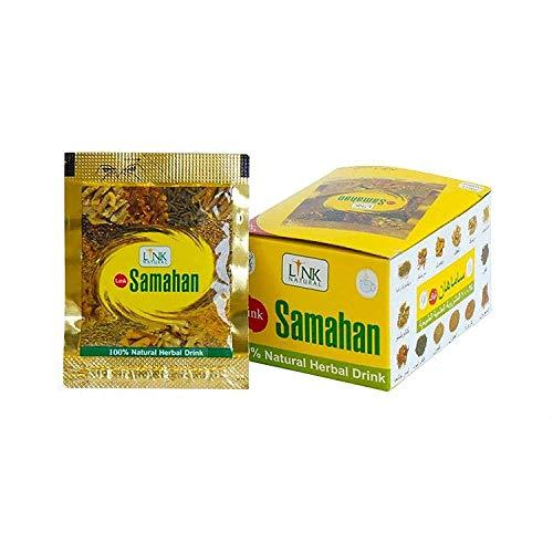 Kräutertee Samahan ayurveda ayurvedic herbal natürlicher Tee, gute und effektive Vorbeugung und Linderung von Erkältungen und erkältungsbedingten Symptomen, 100Päckchen