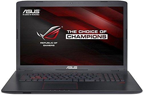 Asus ROG GL752VW-T4112T 43,9 cm (17,3 Zoll Non Glare FHD) Laptop (Intel Core i7 6700HQ, 8GB RAM, 1TB HDD, 256GB SSD, Nvidia GTX 960M 4GB, DVD, Win 10 Home) mattschwarz (Mit Dvd Asus Laptop)