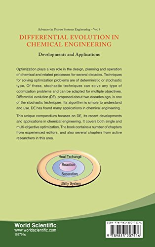 Differential Evolution In Chemical Engineering: Developments And Applications: 6 (Advances In Process Systems Engineering)