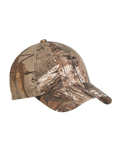 Port Authority Pro Camouflage Series Garment-Washed Cap. C871 Realtree Xtra