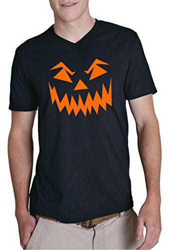 Certified Freak Halloween Face V-Neck Black M