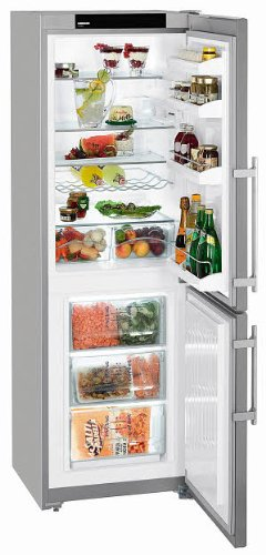 liebherr-cupsl3221-freestanding-fridge-freezer-silver
