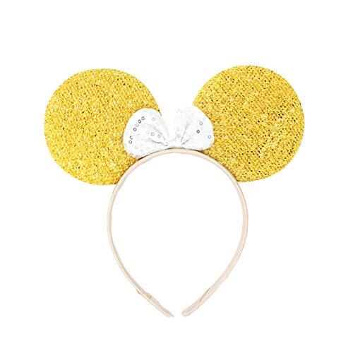 Micky Minnie Maus Ohren, Haarband, Haarband, Kostüm, Gold} Junggesellinnenabschied, Halloween, Kostüm, Mädchen Geburtstag Party