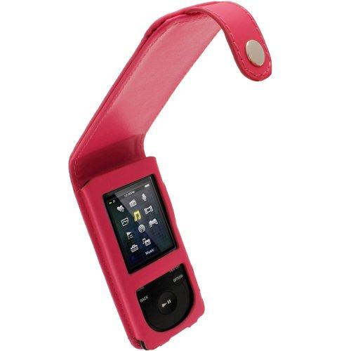 iGadgitz Pink Leather Flip Case Cover for Sony Walkman NWZ-E473 NWZ-E474 NWZ-E574 NWZ-E575 E Series Video MP3 Player 4gb 8gb 16gb (NWZ-E474B, NWZ-E574B, NWZ-E575B, NWZ-E473K)  available at amazon for Rs.1328