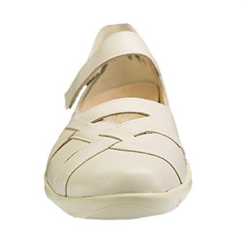 Semler-Chaussures basses pour femme-Largeur Beige Chaussures en différentes tailles H Beige - Beige
