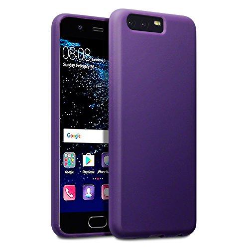 Terrapin, Kompatibel mit Huawei P10 Hülle, TPU Schutzhülle Tasche Case Cover - Matt Lila