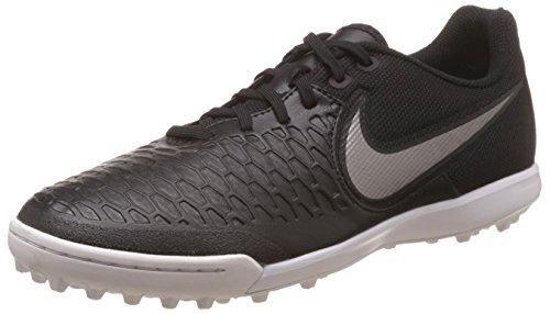 Nike Herren Magistax Pro Tf Fußballschuhe Schwarz / Gold / Weiß (Schwarz / MTLC PWTR-Weiß-Grn GLW)