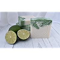 Gin & Tonic Handmade Soap with Shea Butter by Fizzy Fuzzy.