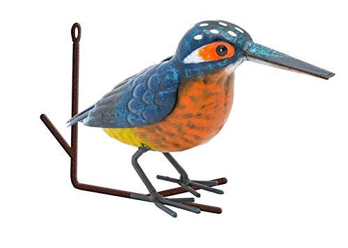 Fountasia Wanddekoration, Vogel auf AST, Metall