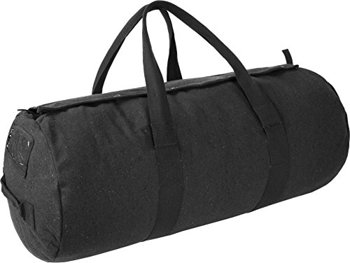 Schwarz Canvas-tasche (normani Canvas Seesack Universal Tasche aus Reiner Baumwolle Farbe Schwarz Größe 70L)
