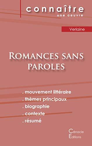 Fiche de lecture Romances sans paroles de Verlaine (Analyse littéraire de référence et résumé complet)