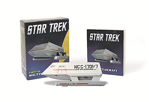 This kit includes a light-up shuttlecraft and a 32-page book on the history of shuttlecrafts,Star Trek fans will love it!