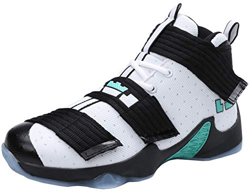 SINOES Herren Basketball Schuhe Outdoorschuhe Basketballstiefel Sneaker Sportschuhe Herren Damen